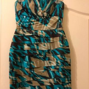 Bebe strapless dress